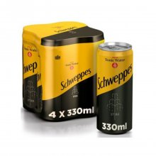 Schweppes Indian Tonic Water 4X330ml