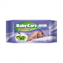 Baby Care Sensitive μωρομάντηλα 63 τεμαχίων