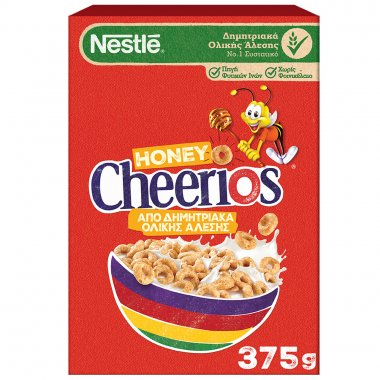 Nestle Honey Cheerios δημητριακά 375gr