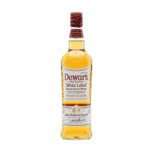 Dewar's white label whiskey 700ml