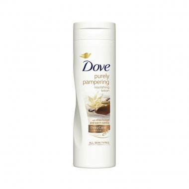 Dove λοσιόν σώματος purely pampering Shea Butter and Warm Vanilla 250ml