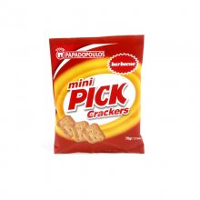 Παπαδοπούλου mini pick crackers barbecue 70gr