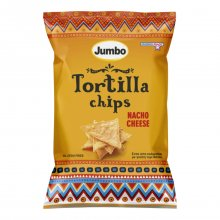 Jumbo Tortilla chips nacho cheese 110gr