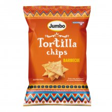 Jumbo Tortilla chips barbeque χωρίς γλουτένη 110gr