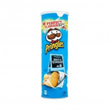 Pringles Salt and Vinegar 165gr
