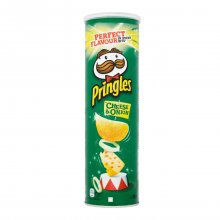 Pringles πατατάκια Cheese & Onion 165gr