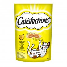 Catisfactions snack λιχουδιά γάτας cheese με τυρί 60gr