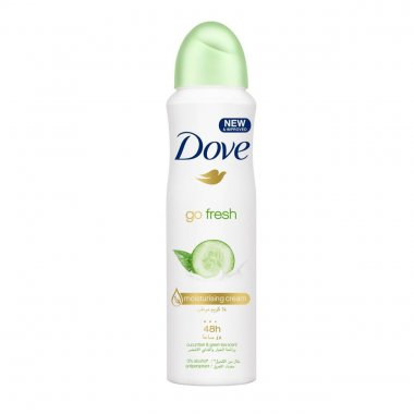 Αποσμητικό σώματος Dove spray Go fresh cucumber & green tea 150ml