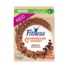 Nestle Fitness Granola chocolate βρώμη & σοκολάτα 440gr