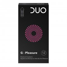 Duo προφυλακτικά G - Pleasure 12 τεμαχίων