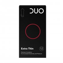 Duo προφυλακτικά extra thin 12 τεμαχίων