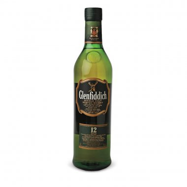 Glenfiddich single malt whisky 12 years 700ml