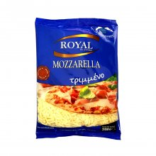 Royal mozzarella τριμμένο 200gr