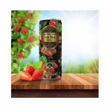 Real Tropical Aloe vera cubes ice tea Strawberry Φράουλα 330ml