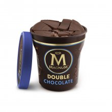 Algida παγωτό Magic Crack Double Chocolate Deluxe κύπελλο