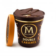 Algida παγωτό Magic Crack Double Salted Caramel κύπελλο