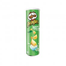 Pringles πατατάκια Sour Cream and Onion 165gr